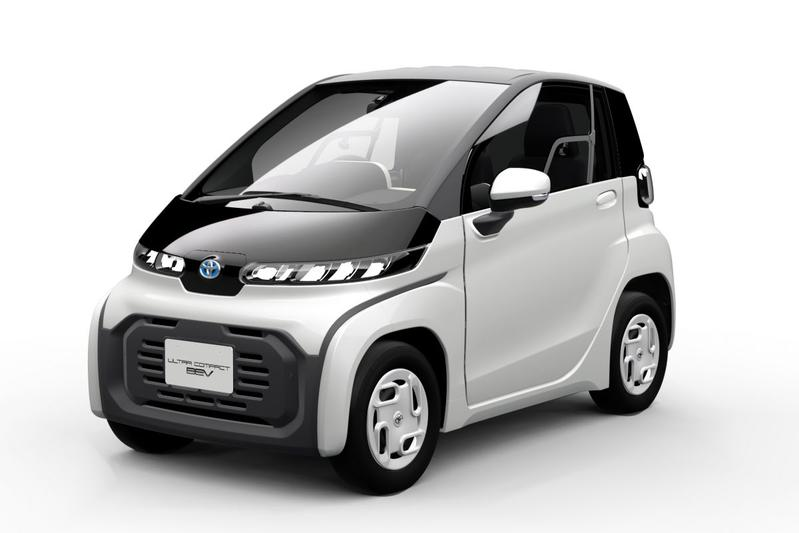 Toyota ultra-compact BEV mobiliteitsoplossing