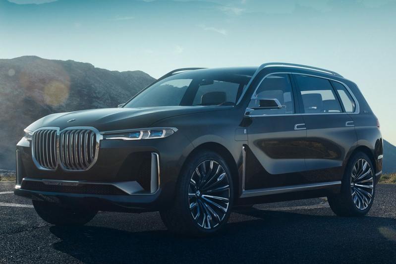 Gelekt: BMW Concept X7