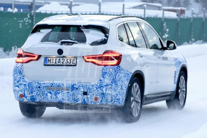 BMW iX3 spionage