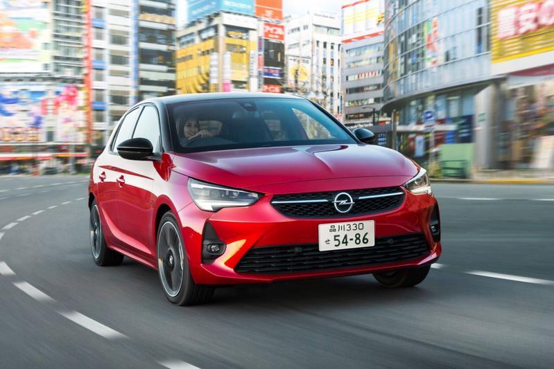 Opel Japan kenteken Corsa