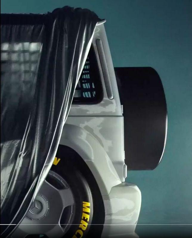 Mercedes-Benz AMG G-klasse Virgil Abloh