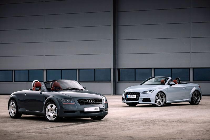 Audi TT eerste en derde generatie