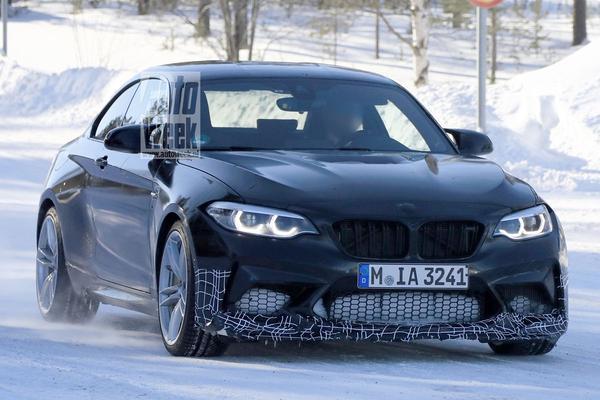 BMW M2 'CS' gesnapt