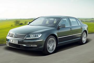 Volkswagen Phaeton alleen nog leverbaar met V8