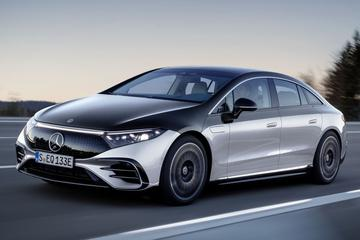 Mercedes-Benz EQS: de elektrische top