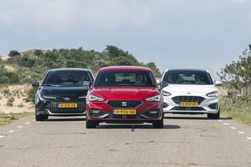 Ford Focus - Seat Leon - Toyota Corolla - Triotest