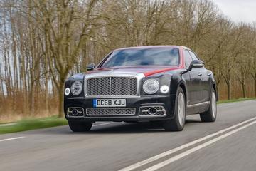 Bentley Mulsanne - Rij-impressie