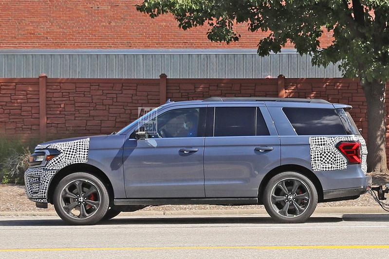 Spyshots Ford Expedition ST