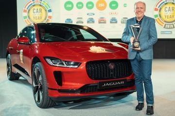 Jaguar I-Pace uitgeroepen tot de Auto van het Jaar 2019
