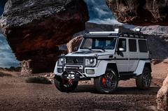 Brabus gaat los op Mercedes G 500 4x4²
