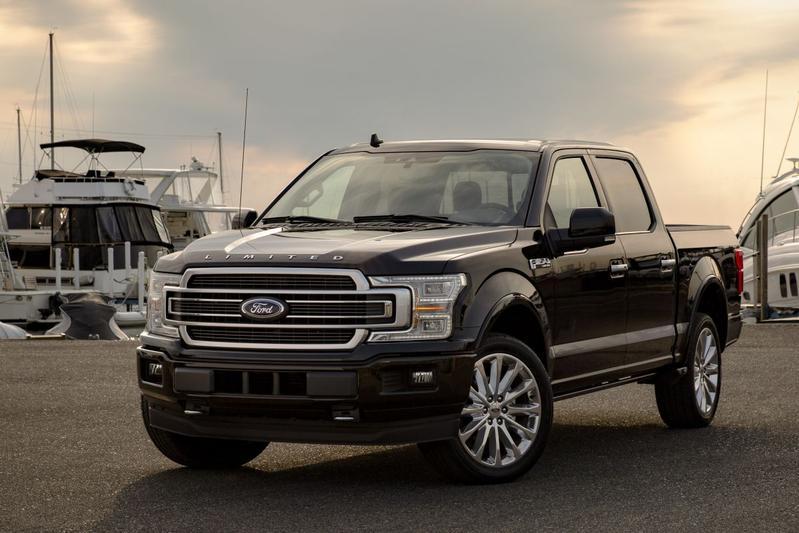 Ford presenteert vernieuwde F-150 Limited
