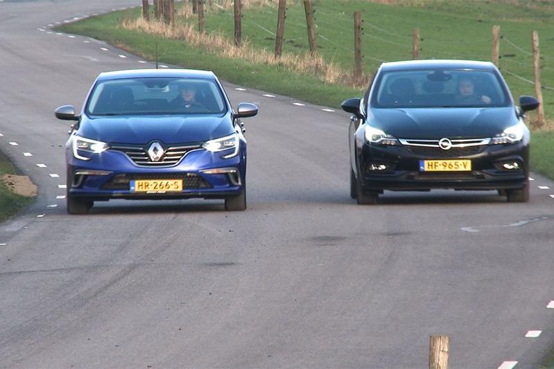 Dubbeltest - Renault Mégane vs. Opel Astra
