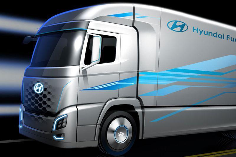 Hyundai komt met vrachtwagen met brandstofcel