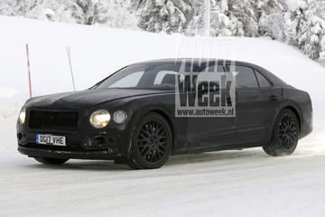 Nieuwe Bentley Flying Spur weer gesnapt