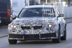 Testwerk nieuwe BMW M3 begonnen