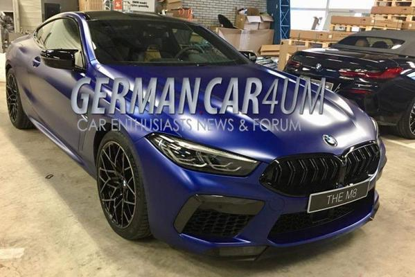 BMW M8 Competition gelekt