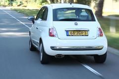 Fiat 500 1.2 Lounge (2009 / 257.318 km) - Klokje Rond