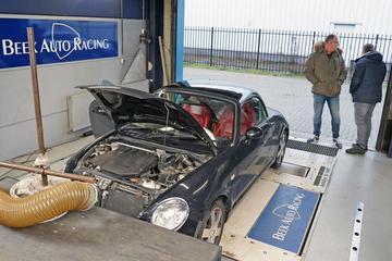 Daihatsu Copen 0.7 turbo - Op de Rollenbank