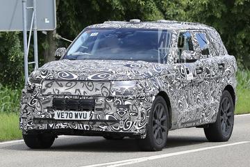 Nieuwe Range Rover Sport gesnapt