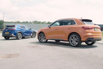 Audi Q3 – Lexus UX - Dubbeltest