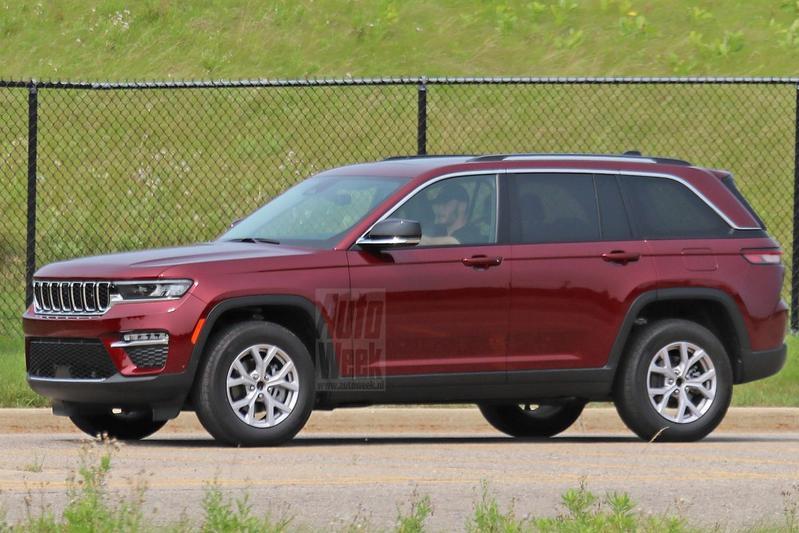 Jeep Grand Cherokee Spyshots
