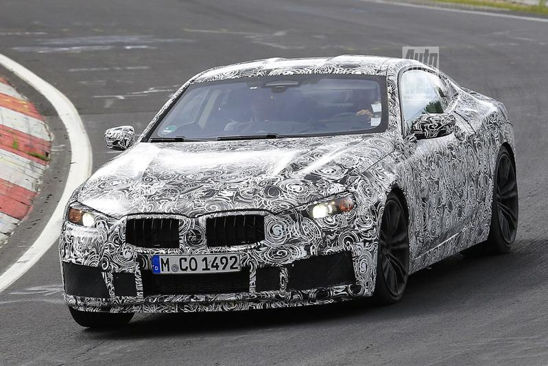 Gesnapt: BMW M8