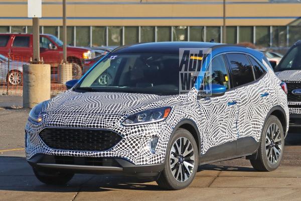 Nieuwe Ford Kuga in beeld