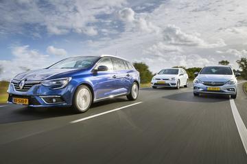 Renault Mégane Estate - Volkswagen Golf Variant - Opel Astra Sports Tourer