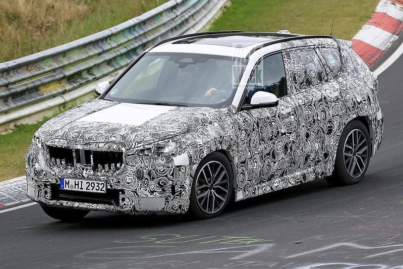 Spyshots BMW X1