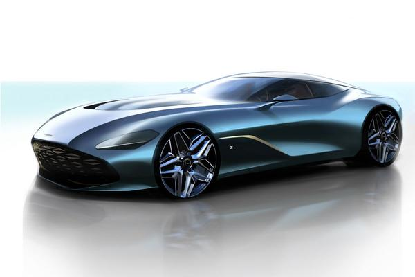 Aston Martin DBS GT Zagato: eerste teken van leven