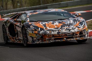 Lamborghini Aventador SVJ pakt 'Ringrecord