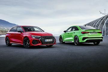 Nieuwe Audi RS3 en RS3 Limousine onthuld