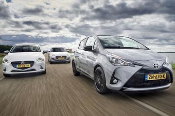 Mazda 2 - Suzuki Swift - Toyota Yaris - Triotest