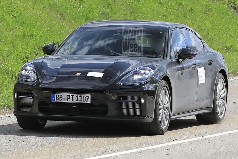 Porsche Panamera spyshots