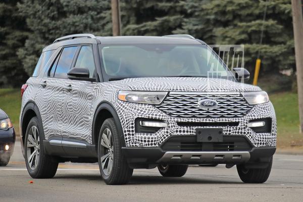 Ford Explorer laat zich weer zien