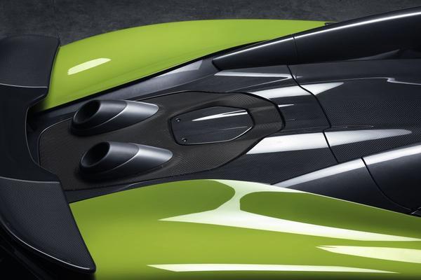 McLaren teast nieuwe Longtail