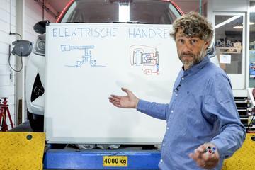 Elektrische handrem – Cornelis schetst
