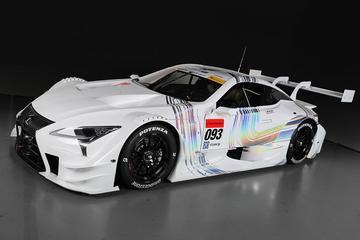 Fraaie racer: Lexus LC 500h in GT-kostuum