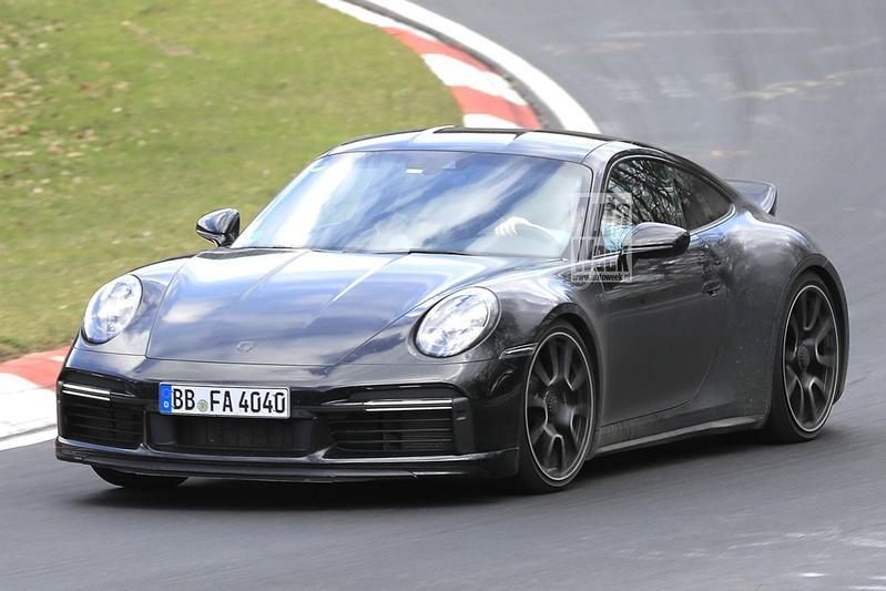 Spyshots Porsche 911 Sport Classic
