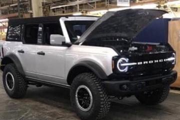 'Ford Bronco en Bronco Sport niet bestemd voor Europa'