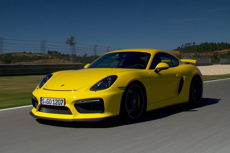 Rij-impressie Porsche Cayman GT4
