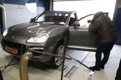 Porsche Cayenne Turbo - Op de Rollenbank