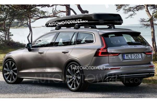 Gelekt: de nieuwe Volvo V60