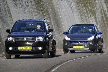 Suzuki Ignis 1.2 Smart Hybrid vs. Opel Adam Rocks 1.0 Turbo
