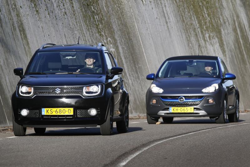 Suzuki Ignis 1.2 Smart Hybrid vs. Opel Adam Rocks 1.0 Turbo