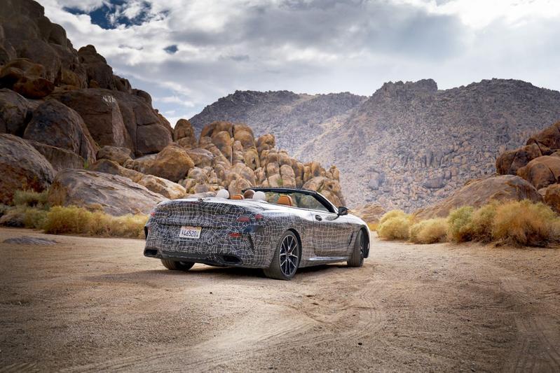 Officieel gecamoufleerd: BMW 8-serie cabriolet