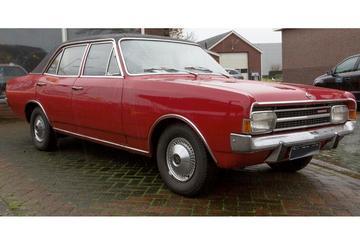 In het wild: Opel Rekord C (1968)
