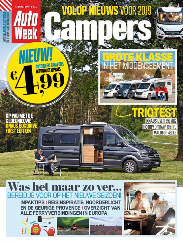 AutoWeek Campers 2018