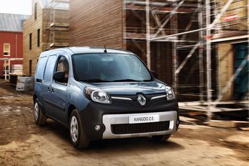 Renault plakt prijzen op vernieuwde Kangoo Z.E.