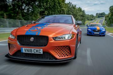 Jaguar XE Project 8 als nieuwe Ringtaxi